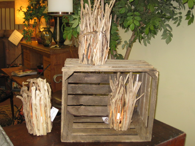 Assortment of Driftwood Lights