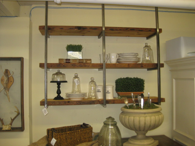 ReClaimed Suspended Shelf