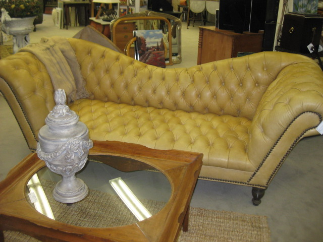 Old Hickory Leather Sofa