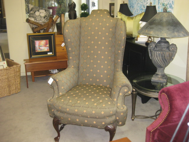 Lillian August Wing Chair (2)