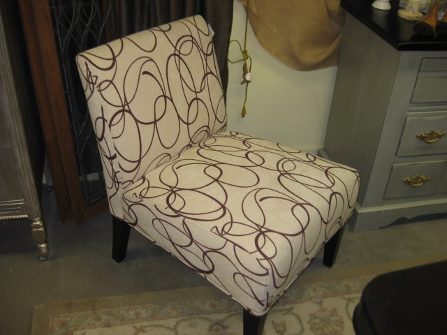 Armless Accent Chair (2)